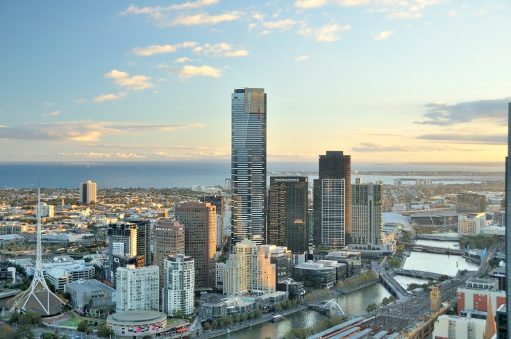 View from Sofitel Melbourne on Collins